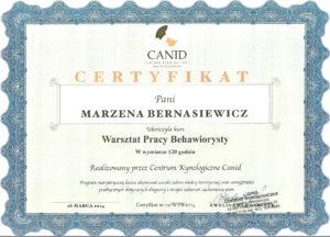 Marzena Bernasiewicz PIES-Pozytywne i Efektywne Szkolenie